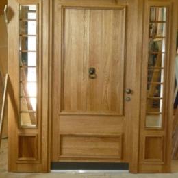 masivna hrastova vrata