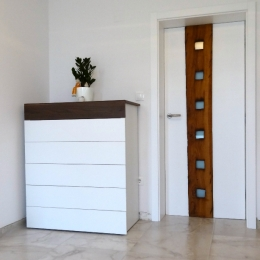 vrata hrast kozolec
