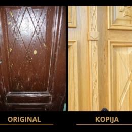 kopija vhodnih vrat