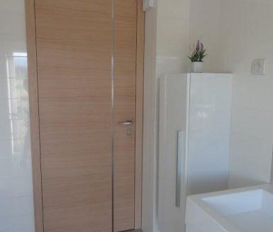 lesena kopalniška vrata