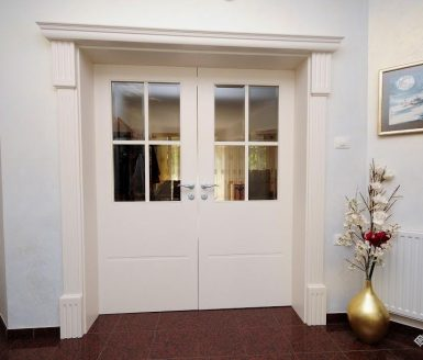 bela dvokrilna notranja vrata