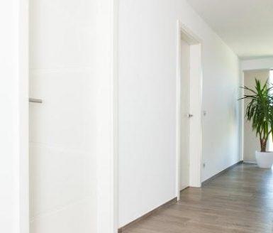bela vrata v hodniku