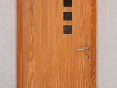 rjava vhodna vrata