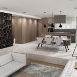 futuristična kuhinja