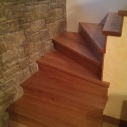 zavite hrastove stopnice