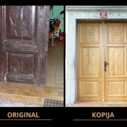 kopija starinskih vrat