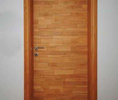 notranja vrata hrast