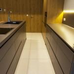 futuristični pult v kuhinji