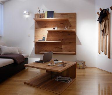 po meri izdelano pohištvo v dnevni sobi